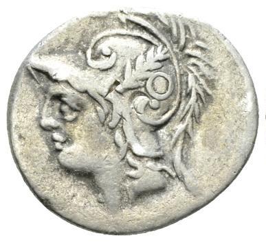 Roman Republican, Q. Minucius, Denarius - Obv
