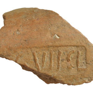Roman legionary brick 'LEG VII CL'