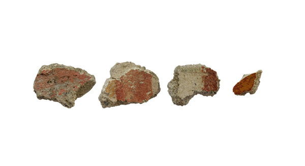 Roman painted fresco lot