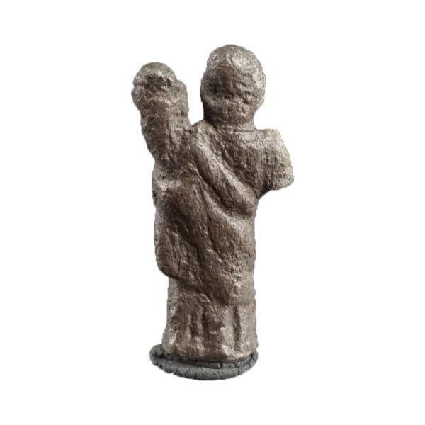 Roman statuette of Fortuna-Tyche