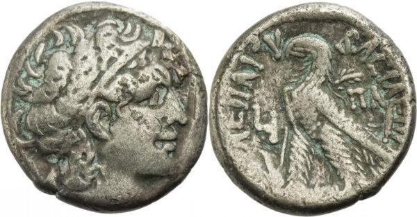 Ptolemaic Kingdom, Cleopatra VII Philopator, Tetradrachm
