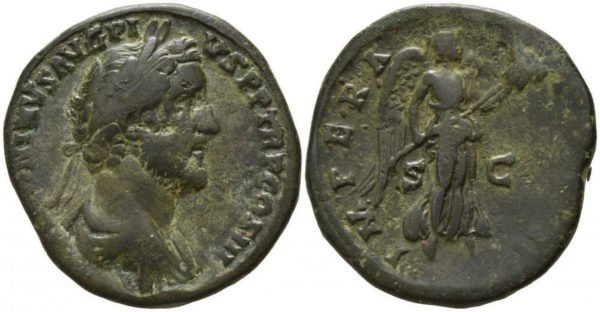 Roman Imperial, Antoninus Pius, Sestertius