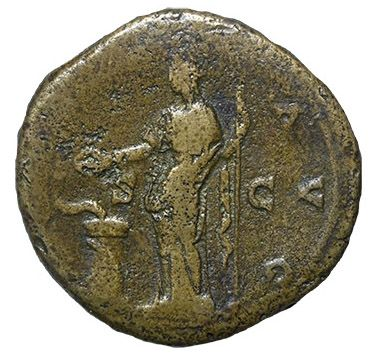 Roman Imperial, Antoninus Pius, Sestertius - Rev