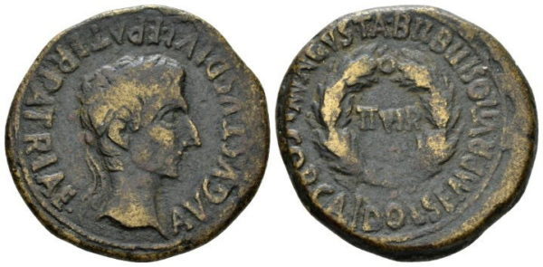 Roman Empire, Augustus, As