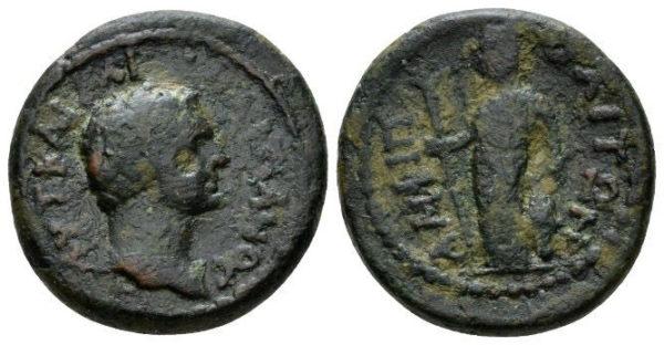 Roman Empire, Domitian, AE