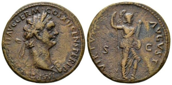 Roman Empire, Domitian, As
