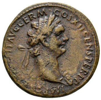 Roman Empire, Domitian, As - Obv