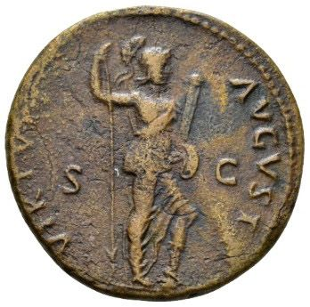 Roman Empire, Domitian, As - Rev