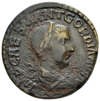 Roman Empire, Gordian III, AE - Obv