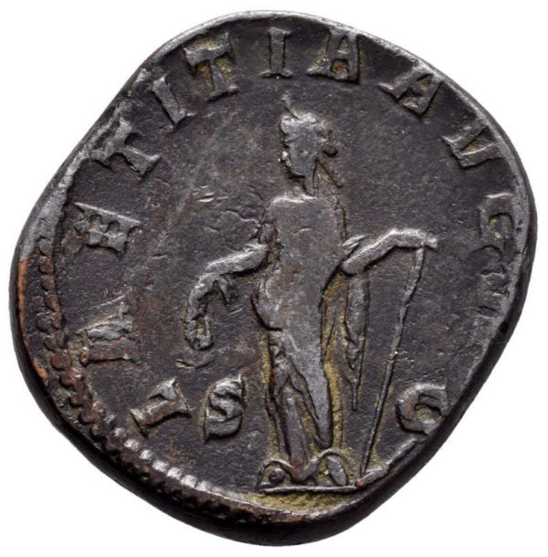 Roman Empire, Gordian III, Sestertius - Rev