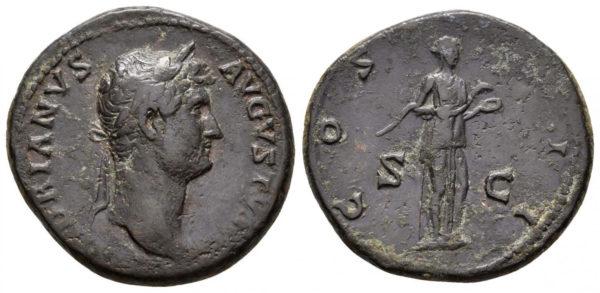 Roman Imperial, Hadrian, As
