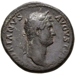 Roman Imperial, Hadrian, As - Obv