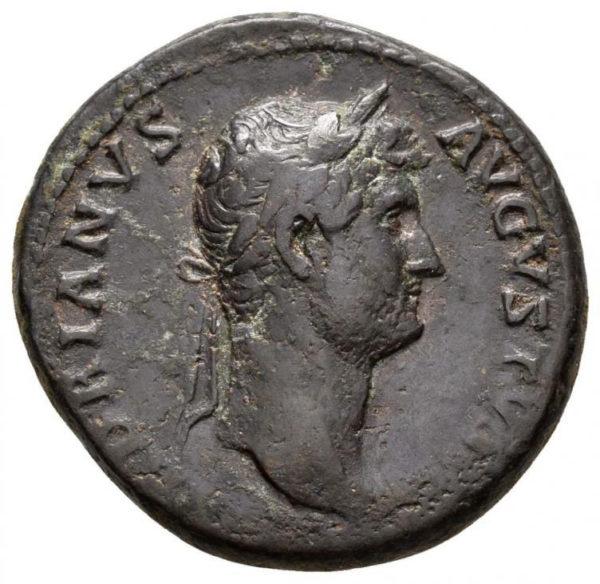Roman Imperial, Hadrian, As - Obv