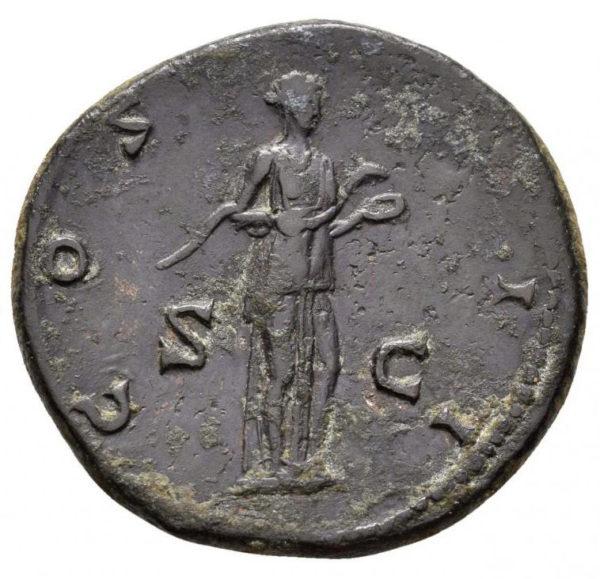 Roman Imperial, Hadrian, As - Rev