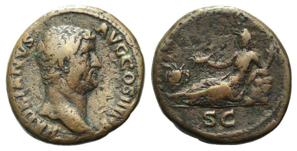 Roman Imperial, Hadrian, As