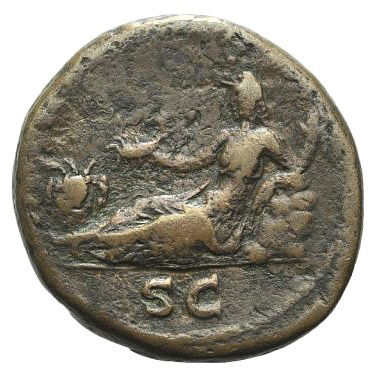 Roman Imperial, Hadrian, As - Rev