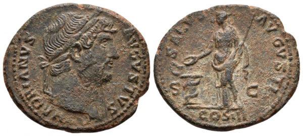 Roman Empire, Hadrian, As