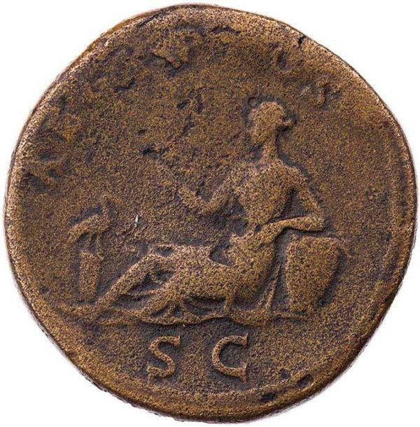Roman Imperial, Hadrian, Sestertius - Rev