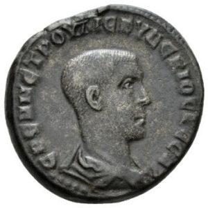 Roman Provincial, Herennius Etruscus, Tetradrachm - Obv