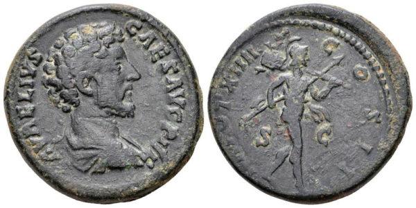 Roman Imperial, Marcus Aurelius, As