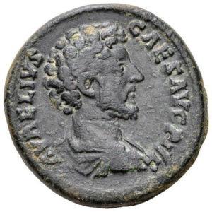 Roman Imperial, Marcus Aurelius, As - Obv