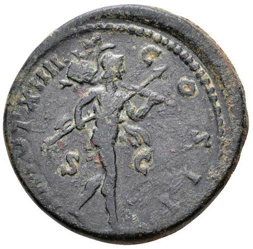 Roman Imperial, Marcus Aurelius, As - Rev