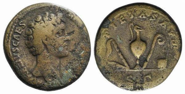 Roman Imperial, Marcus Aurelius, Sestertius