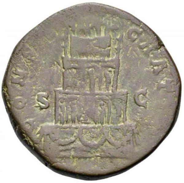 Roman Imperial, Marcus Aurelius, Sestertius - Rev