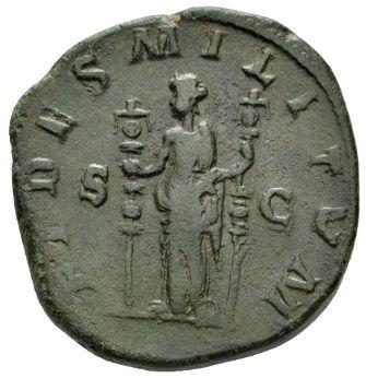 Roman Imperial, Maximinus I Thrax, Sestertius - Rev