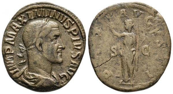 Roman Empire, Maximinus I Thrax, Sestertius
