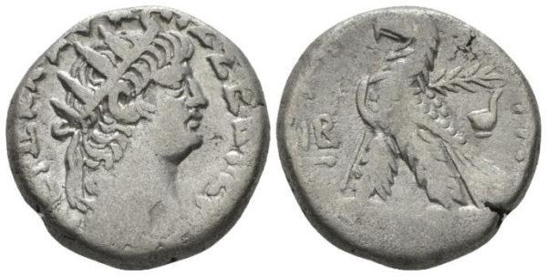 Roman Empire, Nero, Tetradrachm