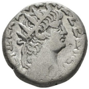 Roman Empire, Nero, Tetradrachm - Obv
