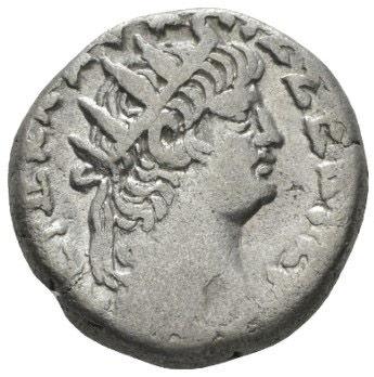 Roman Empire, Nero, Tetradrachm - Obv
