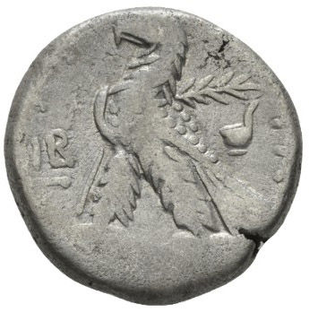Roman Empire, Nero, Tetradrachm - Rev