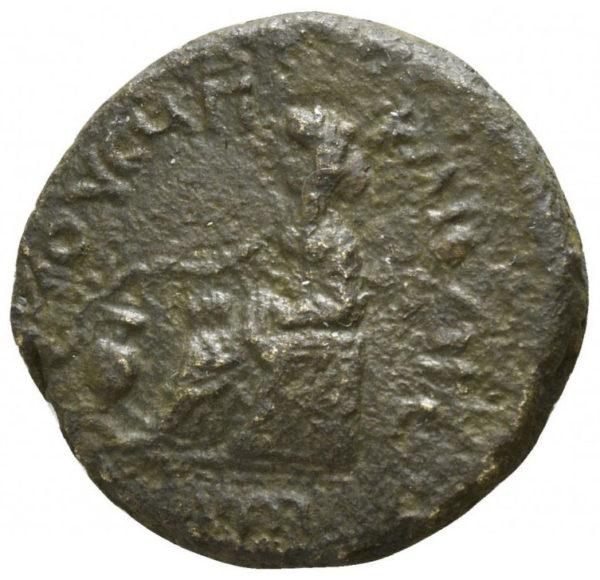 Roman Empire, Nero, AE - Rev