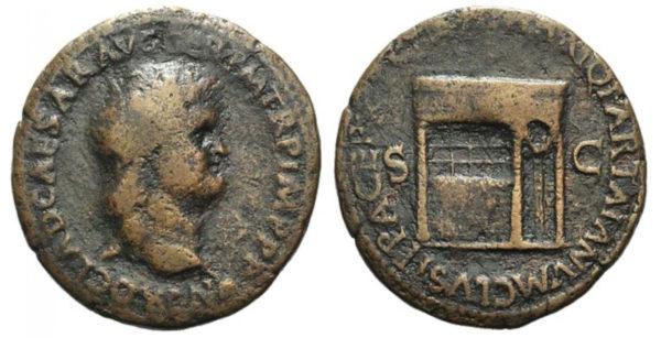 Roman Empire, Nero, Dupondius