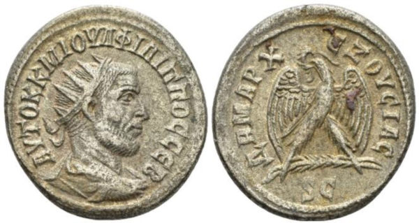 Roman Empire, Philip I, Tetradrachm