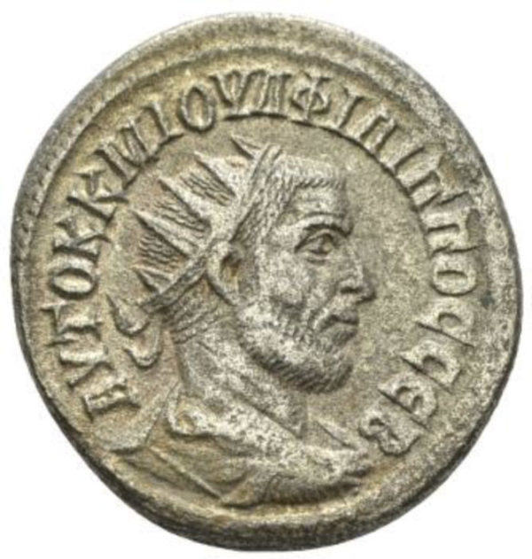 Roman Empire, Philip I, Tetradrachm - Obv