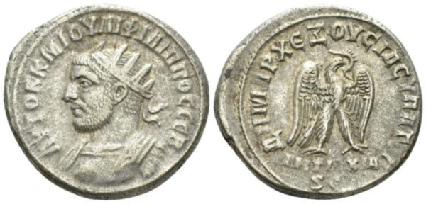 Roman Empire, Philip I, Tetradrachm