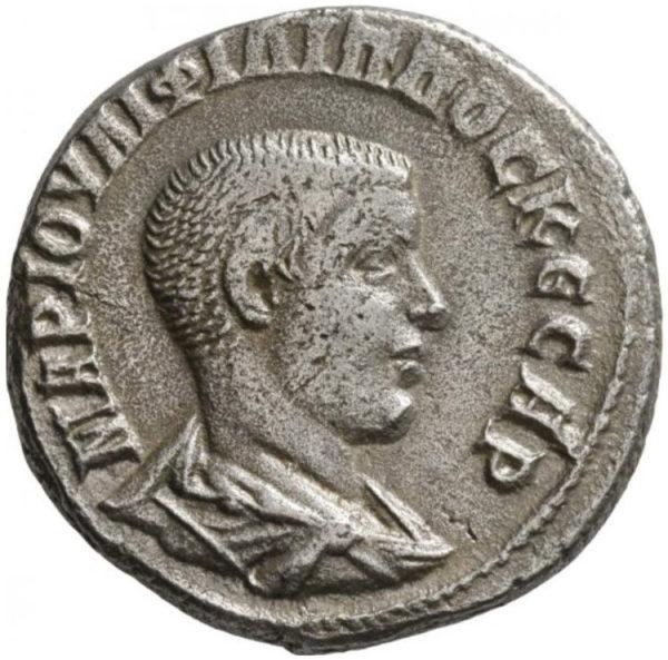 Roman Provincial, Philip II, Tetradrachm - Obv