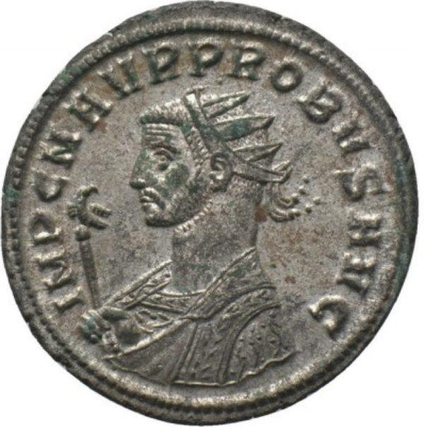 Roman Imperial, Probus, Antoninianus - Obv