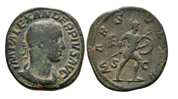 Roman Empire, Severus Alexander, Sestertius