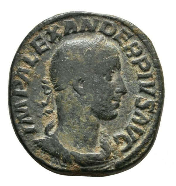 Roman Empire, Severus Alexander, Sestertius - Obv