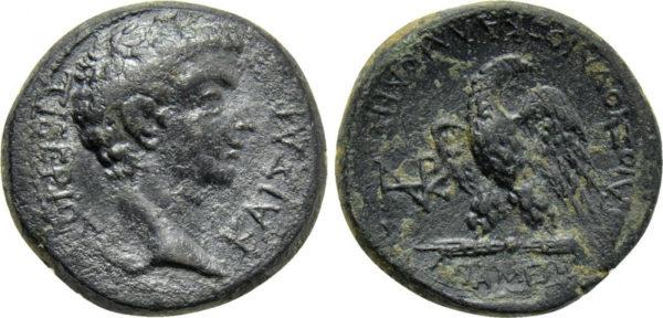 Roman Empire, Tiberius, AE