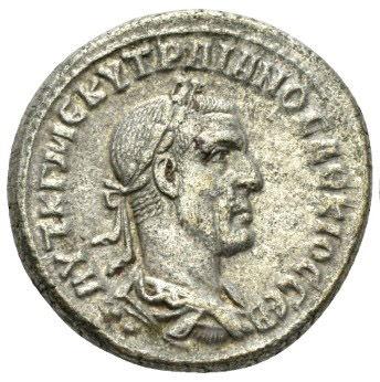 Roman Provincial, Trajan Decius, Tetradrachm - Obv