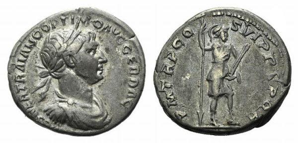 Roman Empire, Trajan, Denarius