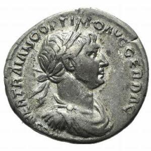 Roman Imperial, Trajan, Denarius - Obv