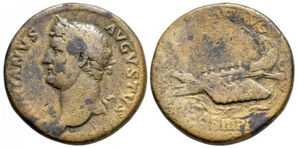 Roman Imperial, Hadrian, Sestertius