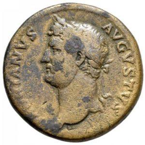Roman Empire, Hadrian, Sestertius - Obv
