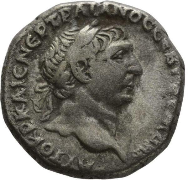 Roman Provincial, Trajan, Tetradrachm - Obv